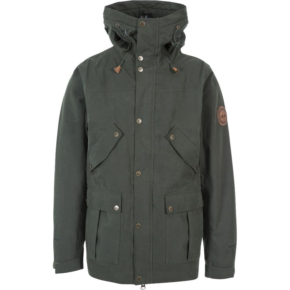 Trespass Mens Destroyer DLX Waterproof Breathable Jacket