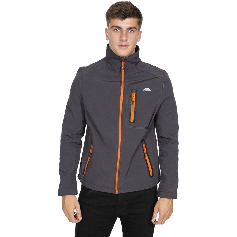 Trespass Mens Hotham TP50 Light Windproof Softshell Jacket