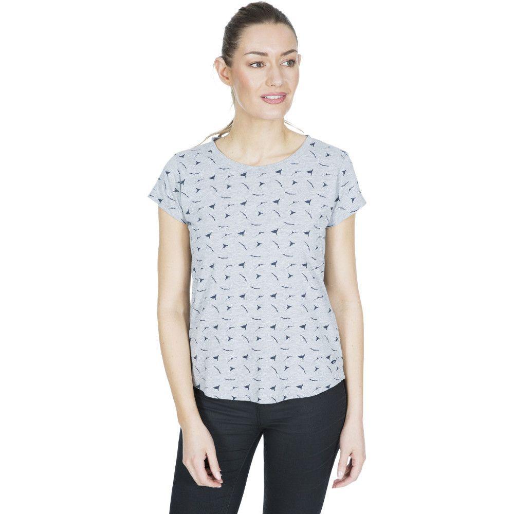 Trespass Womens Carolyn Printed Round Neck T Shirt