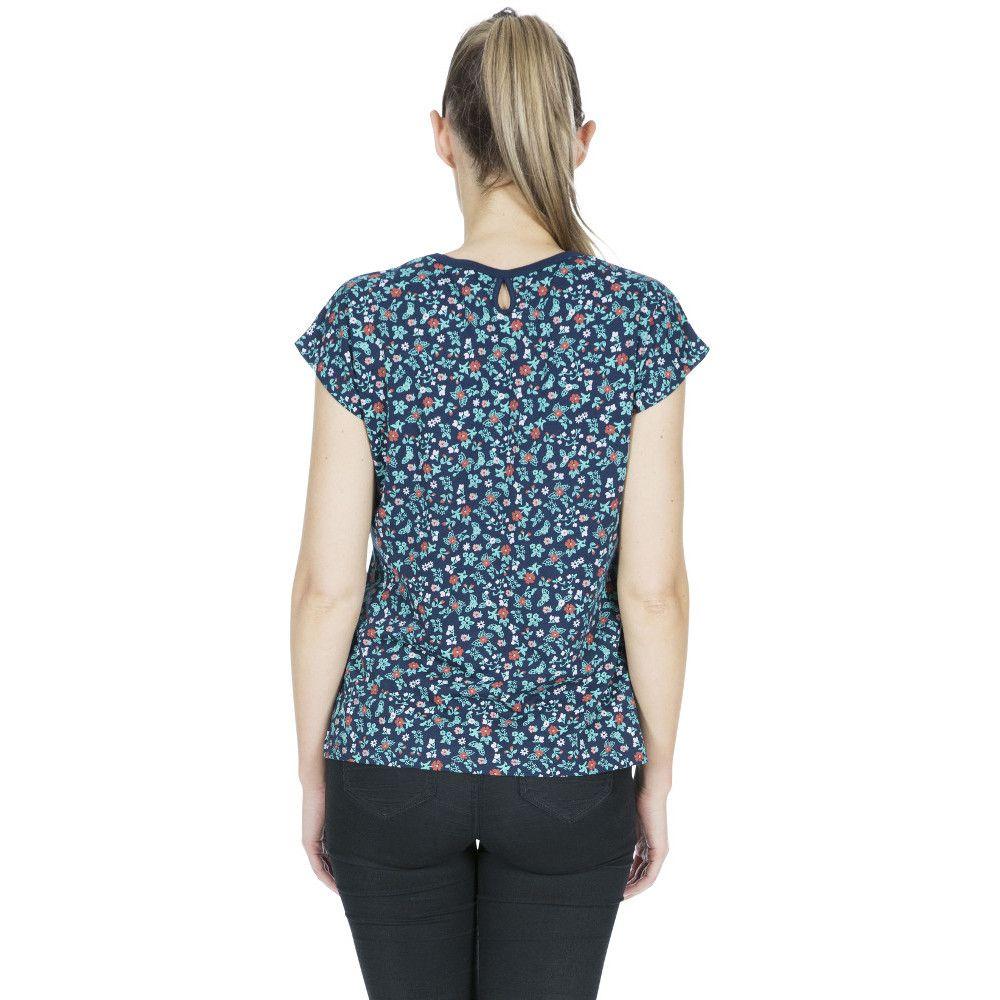 Trespass Womens Charlene Printed Round Neck T Shirt Top
