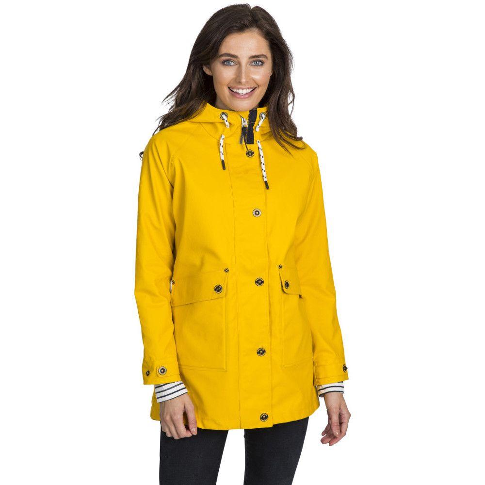 Trespass Womens Shoreline Windproof Waterproof Rain Coat