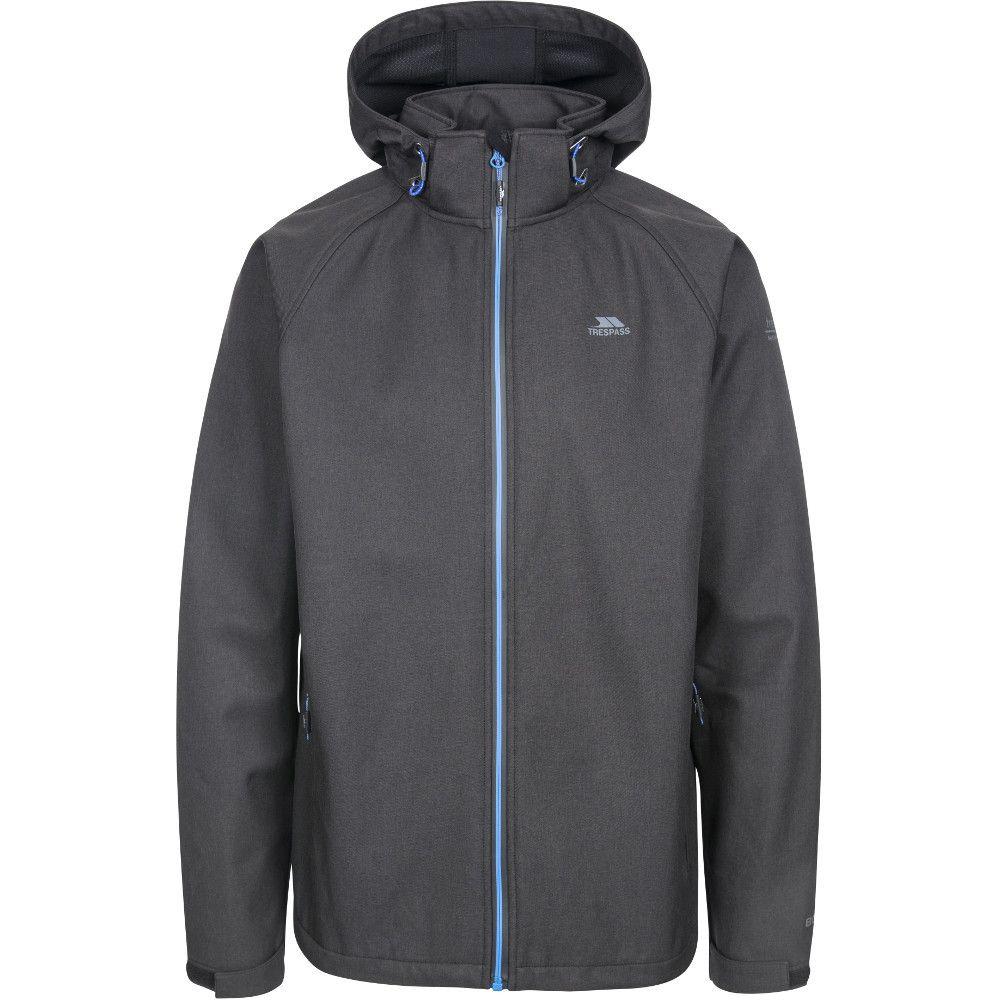 Trespass Mens Maverick Waterproof Hooded Softshell Jacket