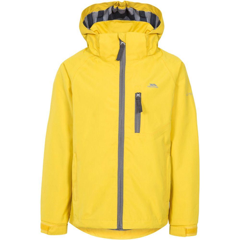 Trespass Boys Overwhelm Windproof Waterproof Hooded Jacket