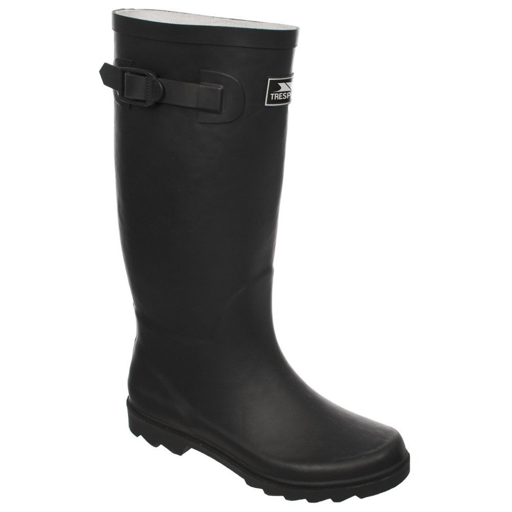Trespass Mens Recon X Waterproof Full Rubber Welly Wellington Boots