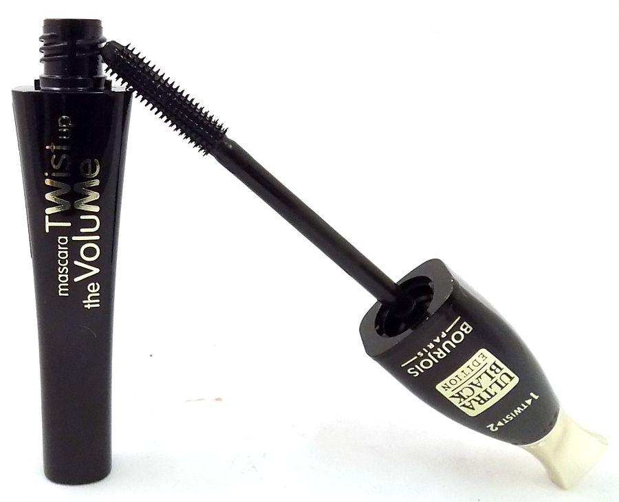 2 x Bourjois Paris Twist Up The Volume Mascara 8ml - 52 Ultra Black Edition New