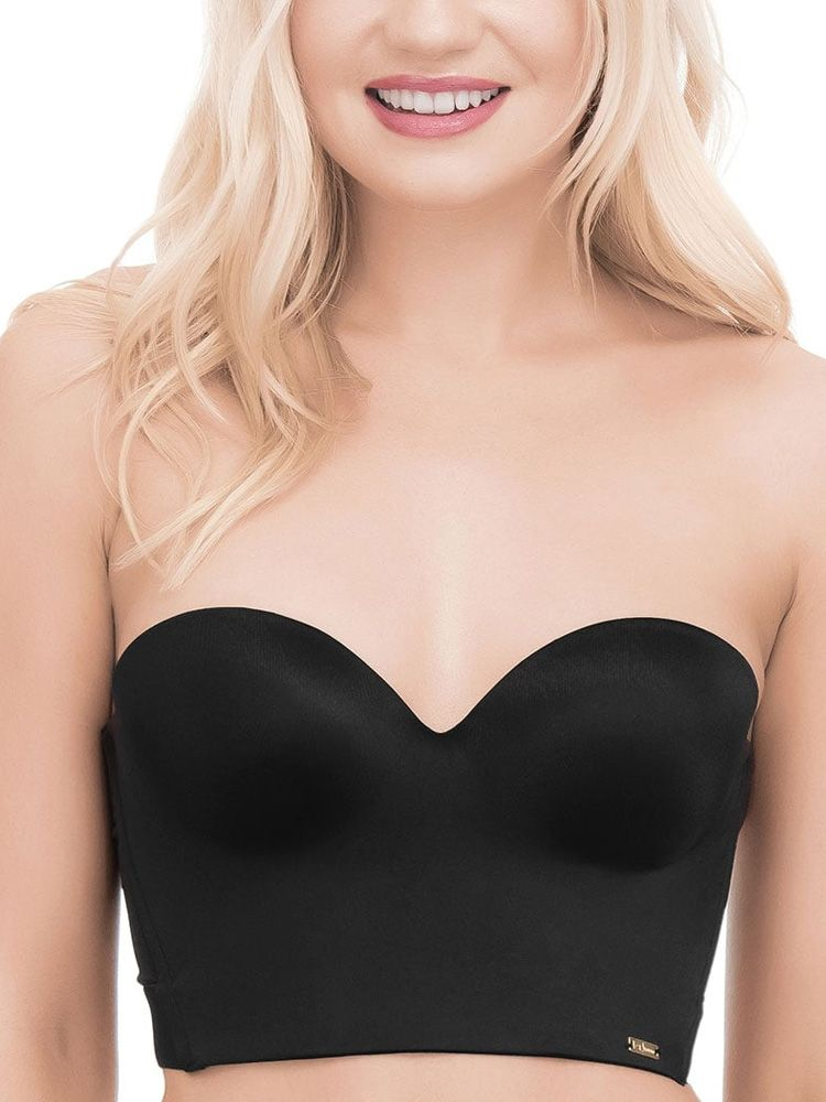 Low Back Strapless Bra