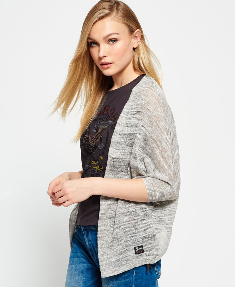 Superdry Nevada Springs Slub Cardigan