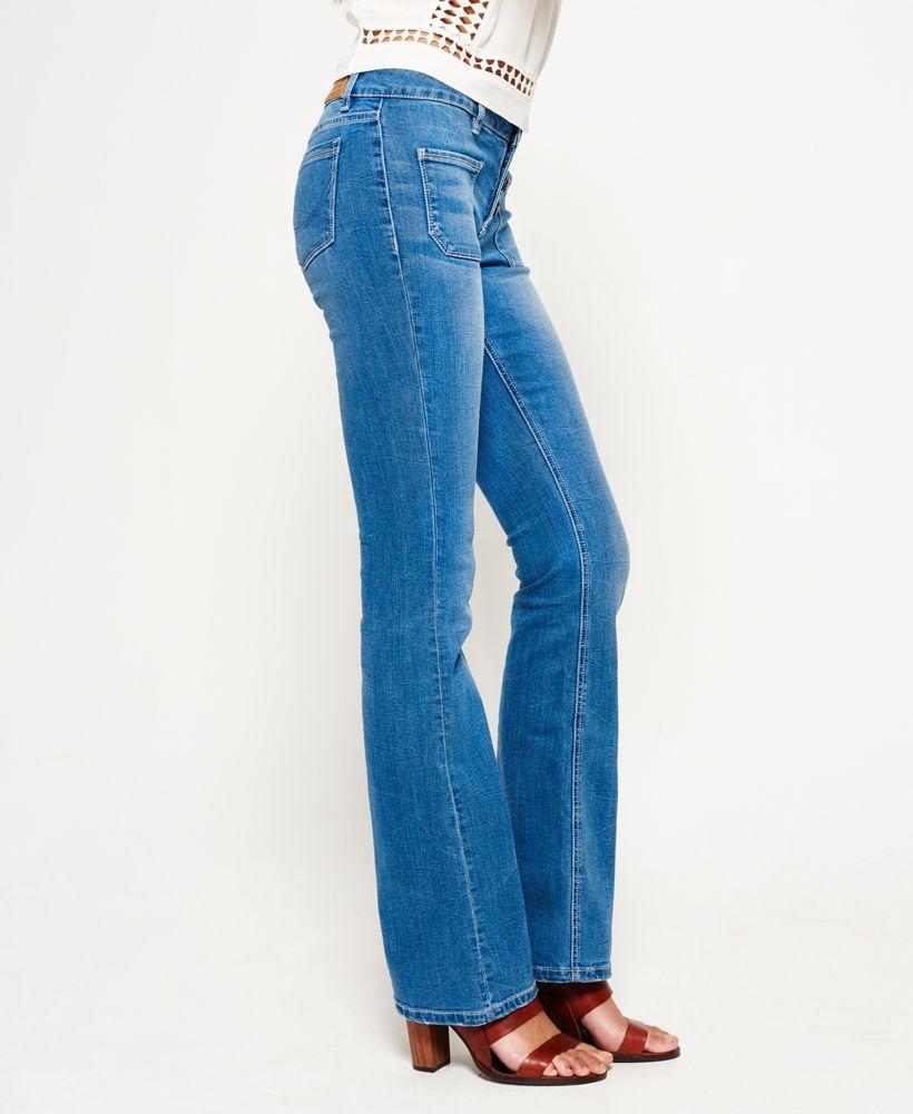Superdry Zadie Kick Flare Jeans