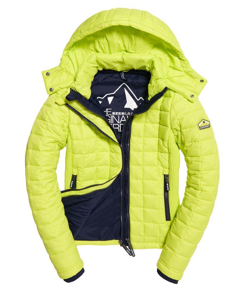 Superdry Hooded Box Quilt Fuji Jacket