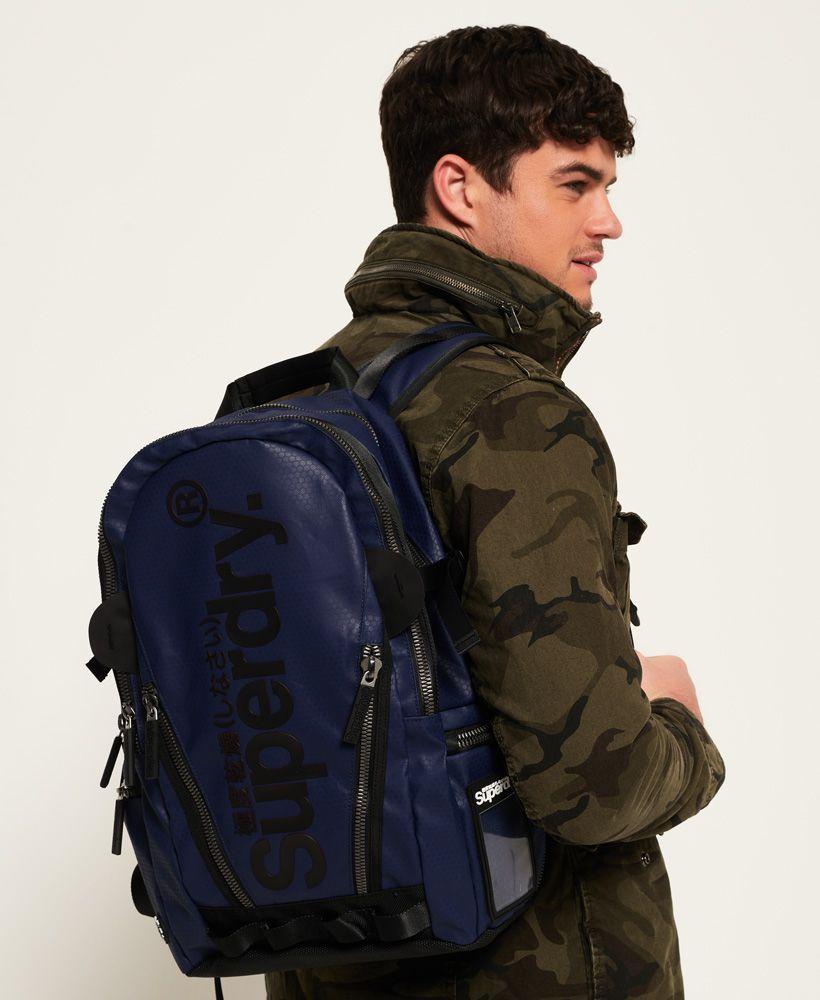 Superdry Silver Tarp Backpack