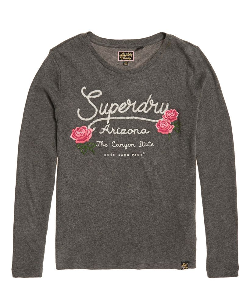 Superdry Callie Embroidered Top