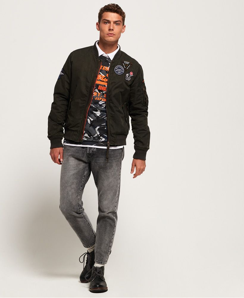Superdry Limited Issue Flight Bomber Jacket