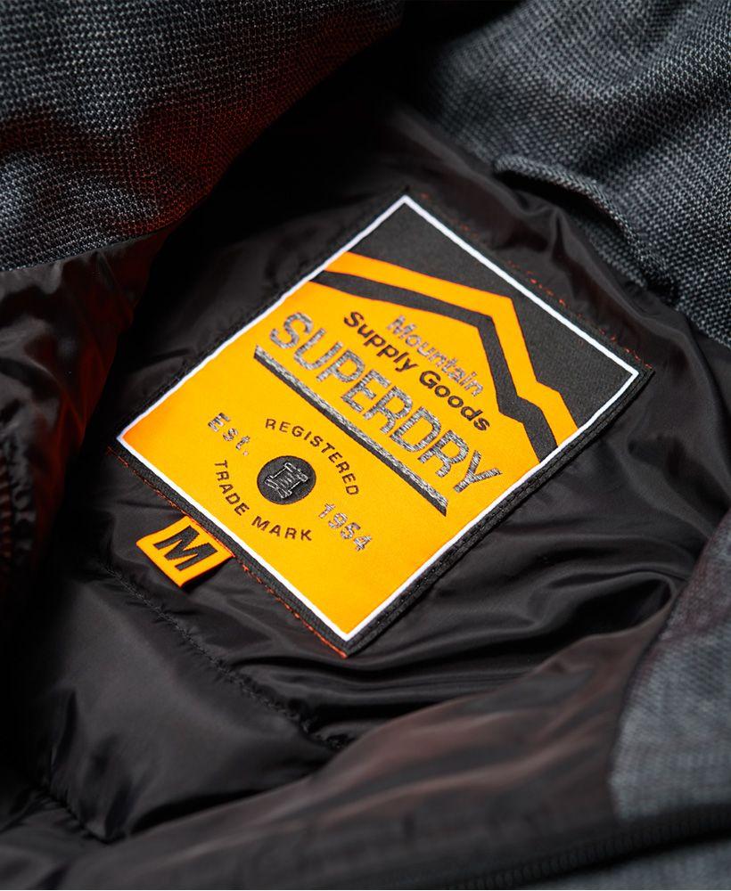 Superdry Tweed Double Zip Fuji Jacket