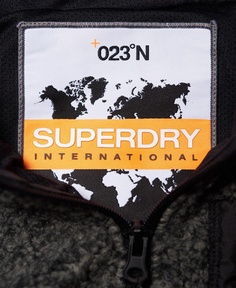 Superdry Mountain Sherpa Zip Hoodie