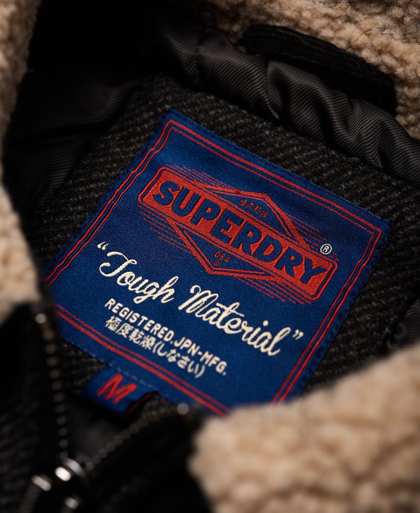 Superdry Mason Wool Blend Trucker Jacket