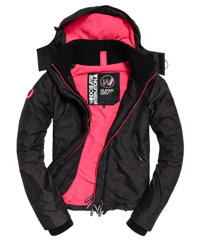 Superdry Arctic Hooded Pop Zip SD-Windcheater Jacket