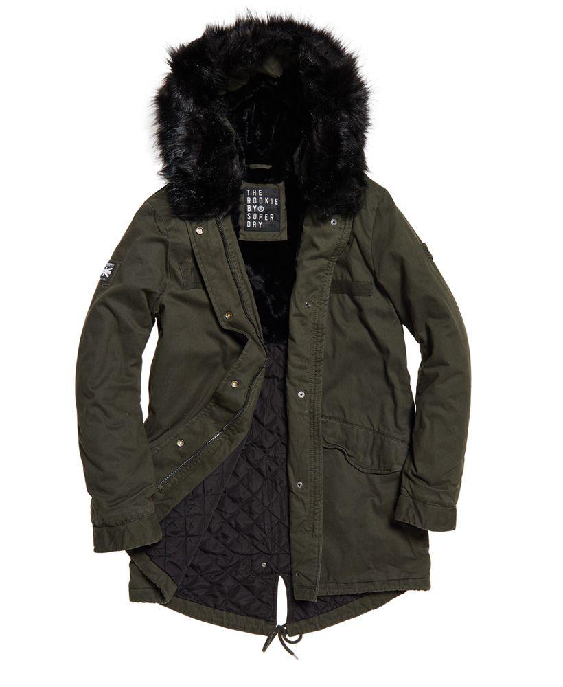 Superdry Rookie Hawk Parka Jacket