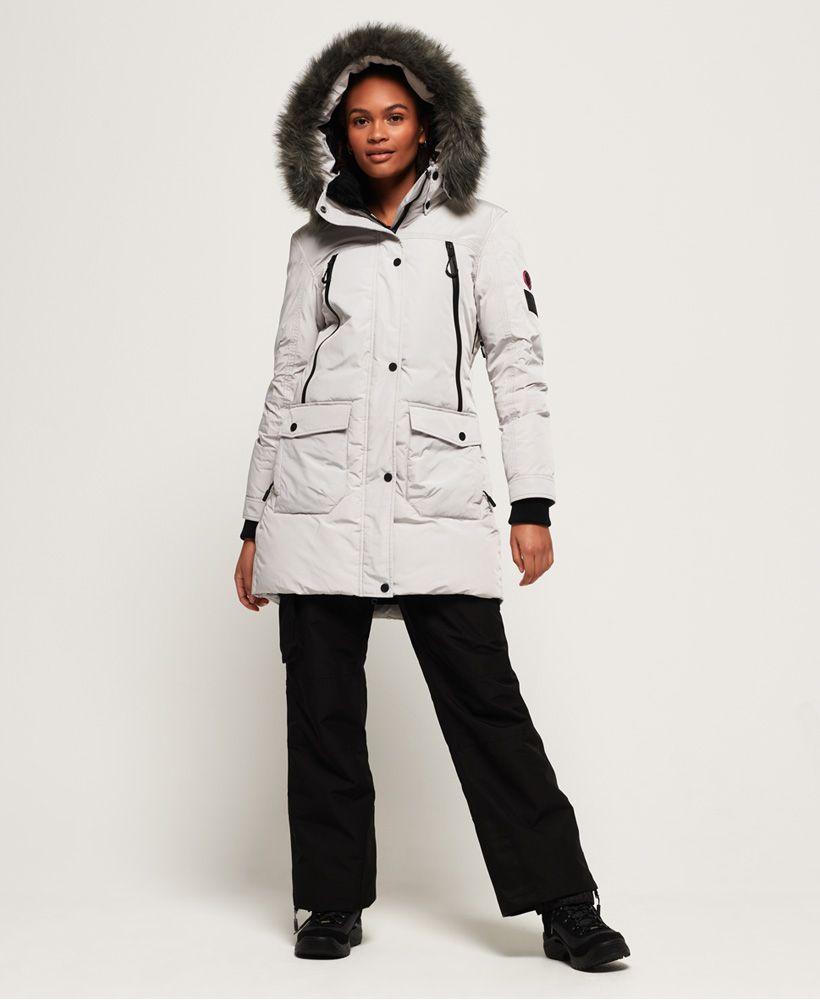 Superdry Antarctic Explorer Down Parka Jacket