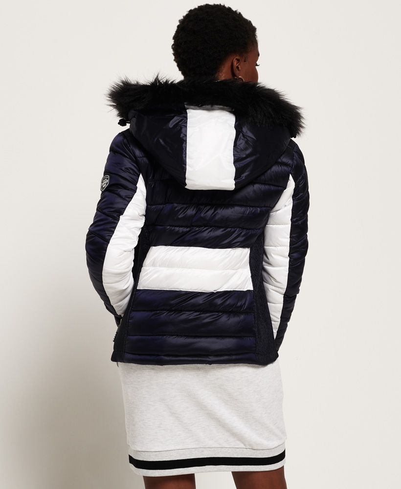 Superdry Offshore Luxe Chevron Fuji Jacket