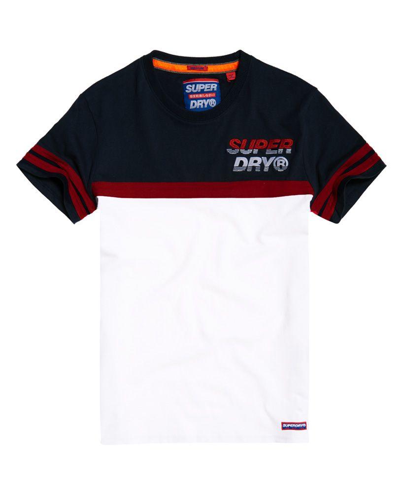 Superdry Applique Cut & Sew T-Shirt