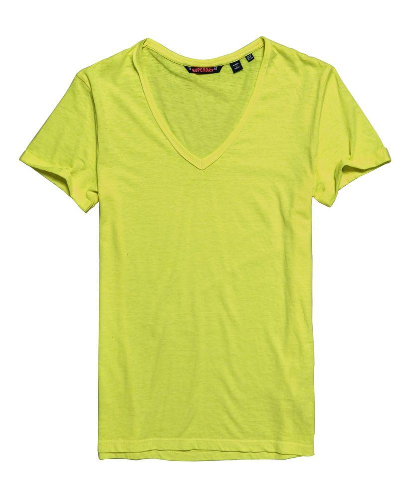 Superdry Burnout Vee T-Shirt