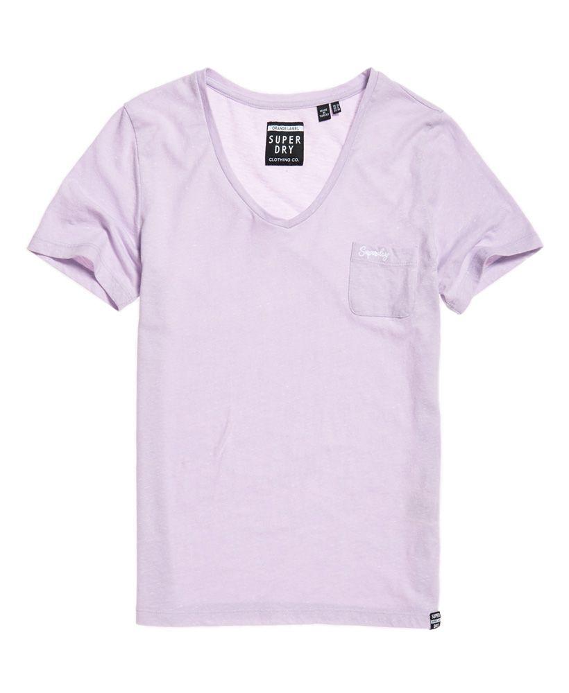 Superdry Orange Label Essential Vee Neck T-Shirt