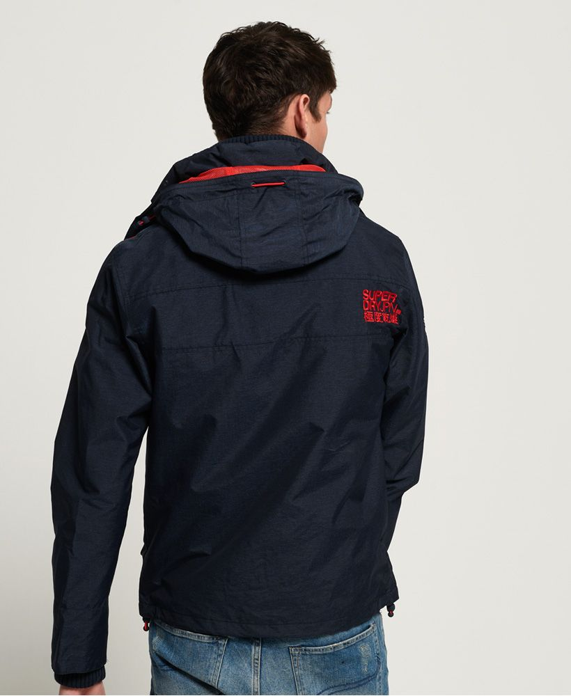 Superdry Hooded Technical Pop Zip SD-Windcheater Jacket