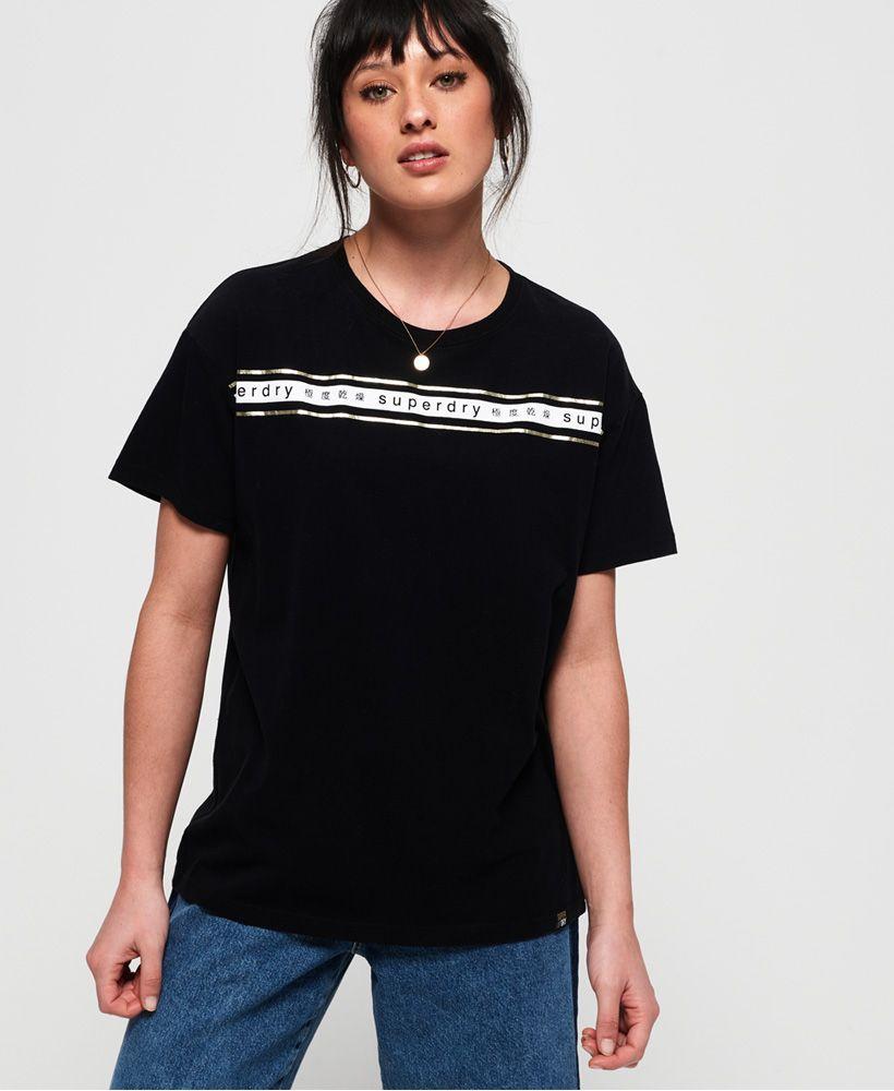 Superdry Minimal Logo Tape Oversized Portland T-Shirt