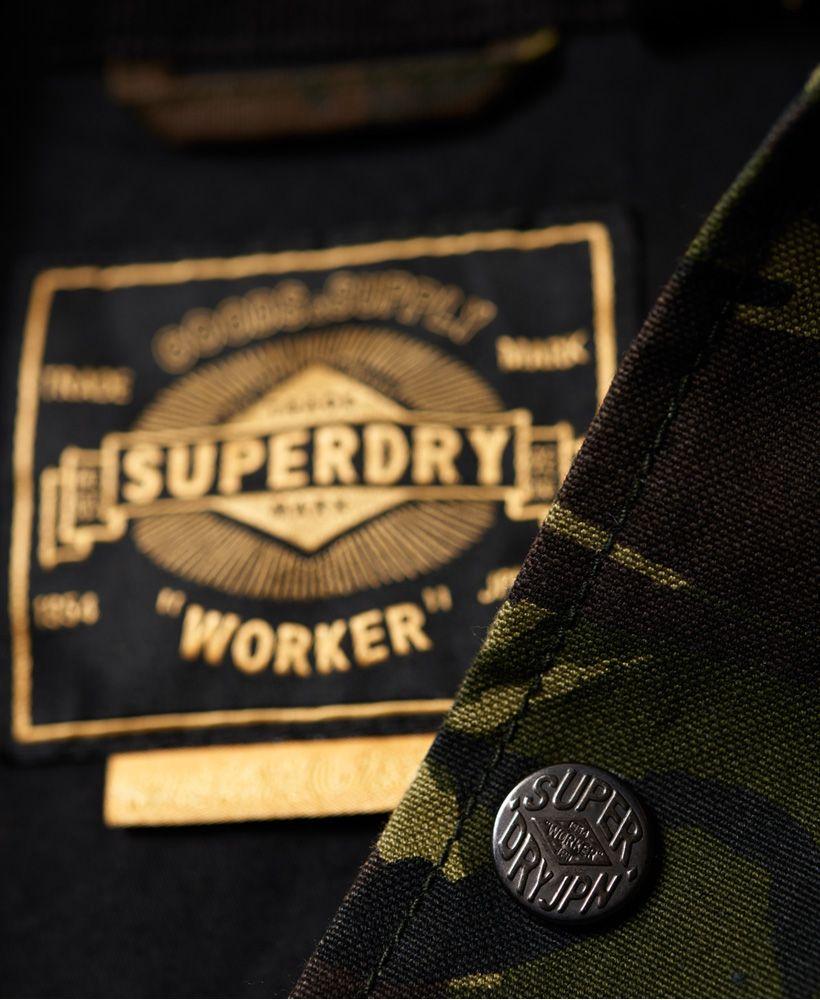 Superdry Supersonic Canvas Coach Jacket