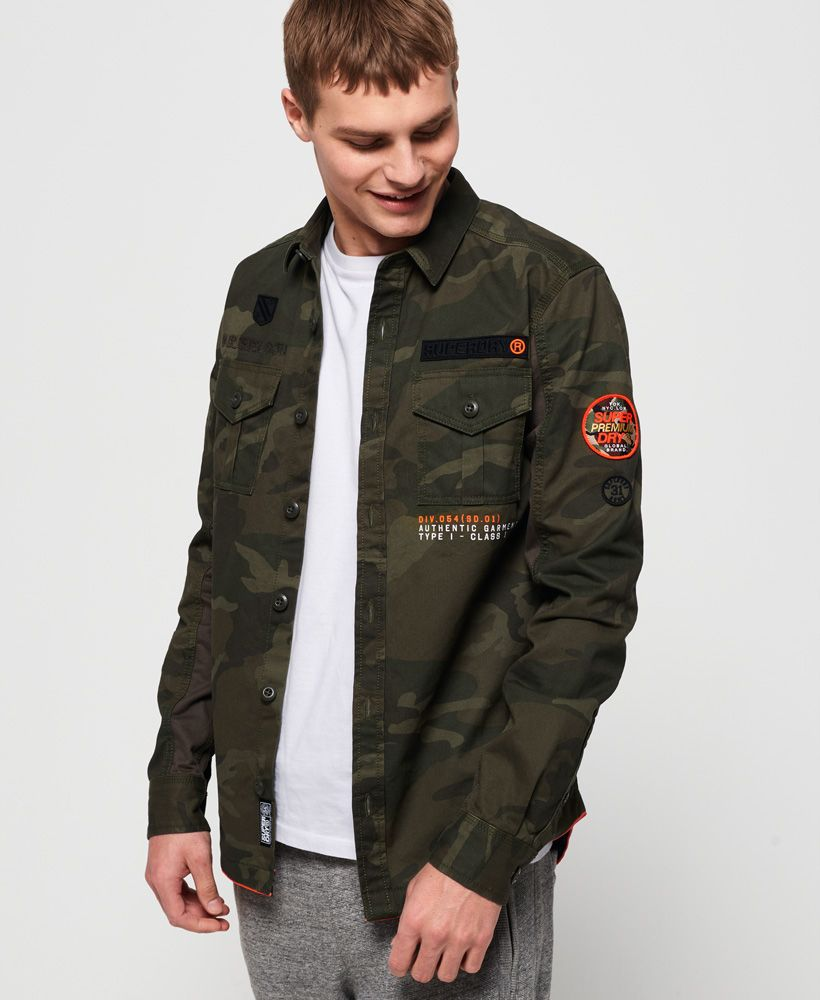 Superdry Military Storm Shirt