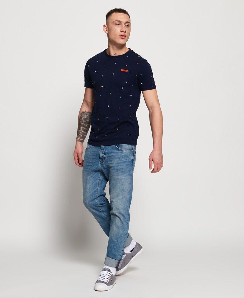 Superdry All Over Print Lite Short Sleeve T-Shirt