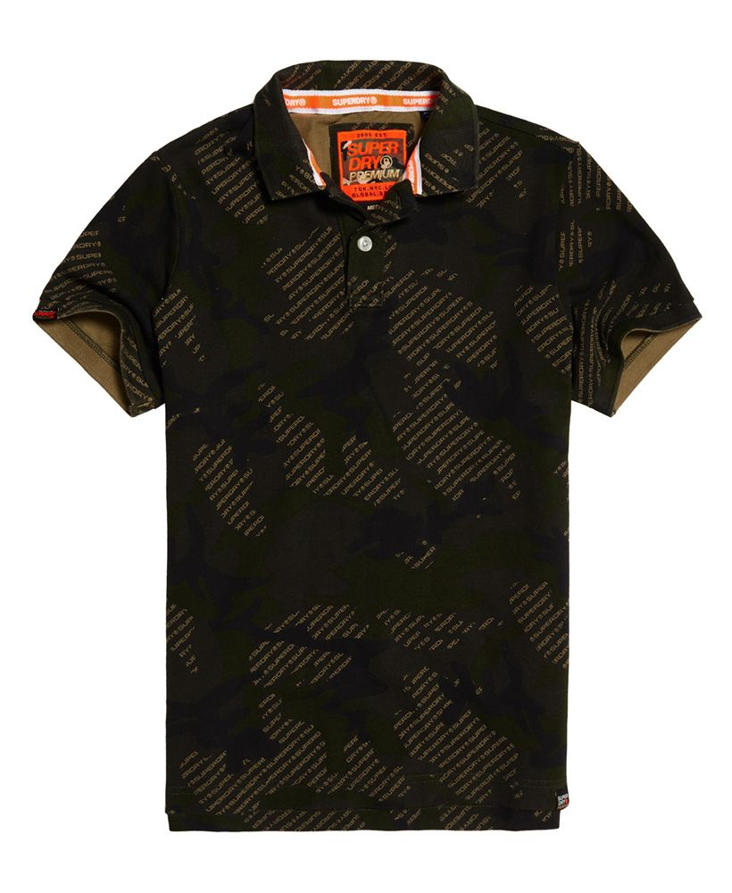 Superdry Tropic Army Polo Shirt