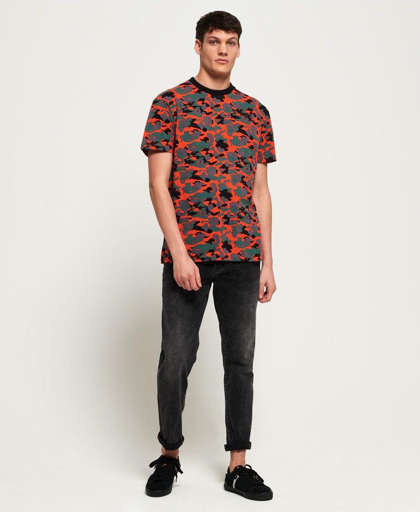 Superdry Orange Label Urban Printed Box T-Shirt