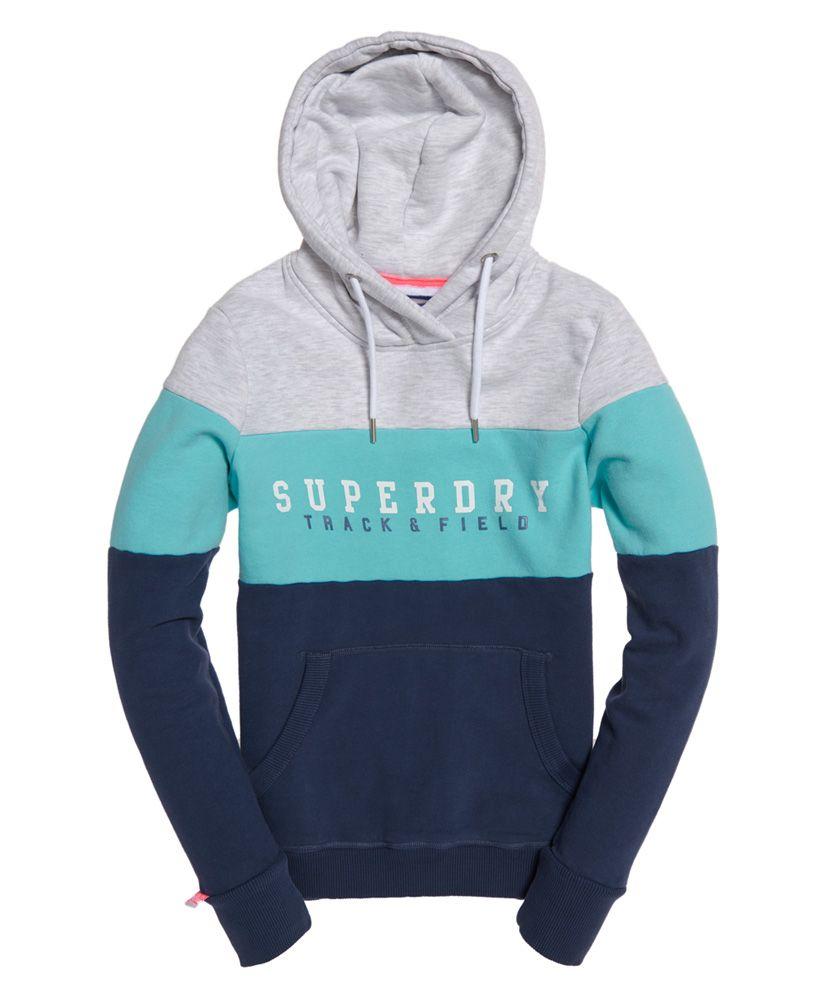 Superdry Track & Field Colour Block Hoodie