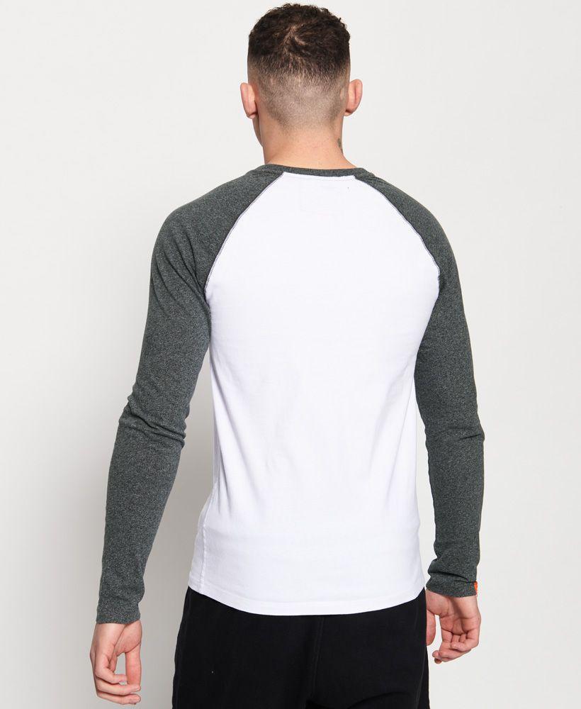 Superdry Baseball Long Sleeve T-Shirt