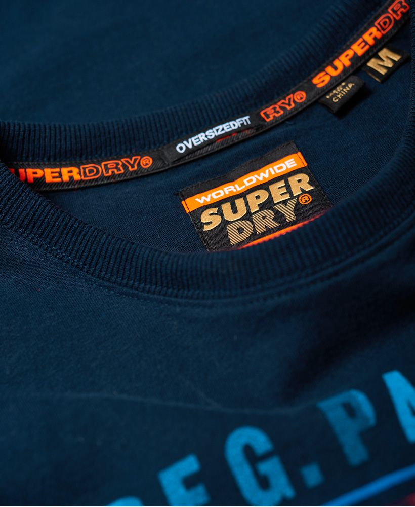 Superdry Acid Graphic Mid Weight Oversized T-Shirt