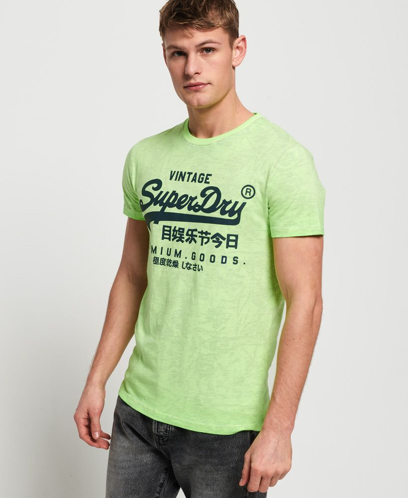 Superdry Premium Goods Mid Weight All Over Print T-Shirt