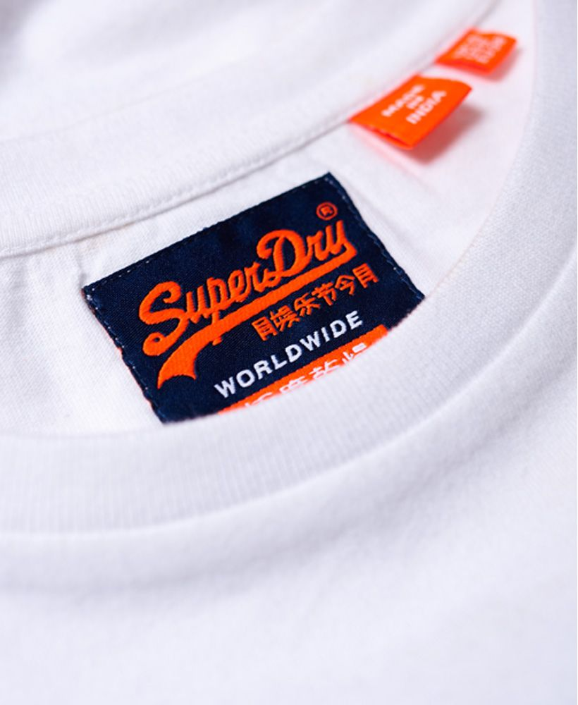 Superdry Orange Label Crew Neck T-Shirt