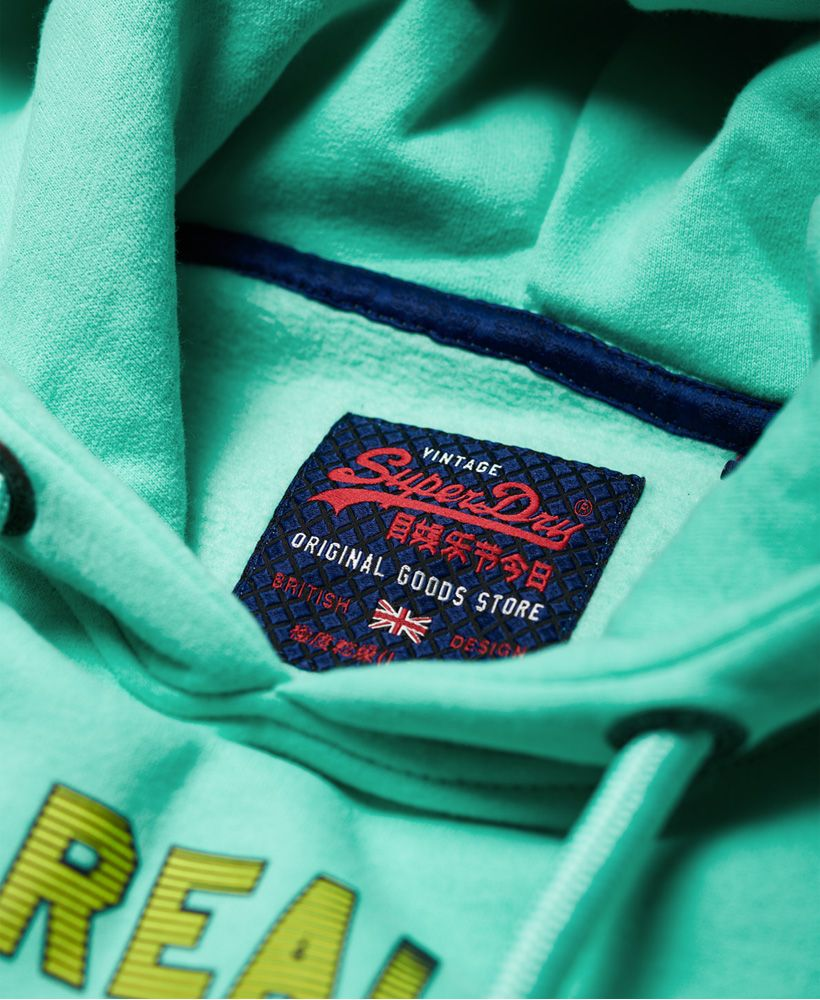 Superdry Vintage Logo Fade Hoodie