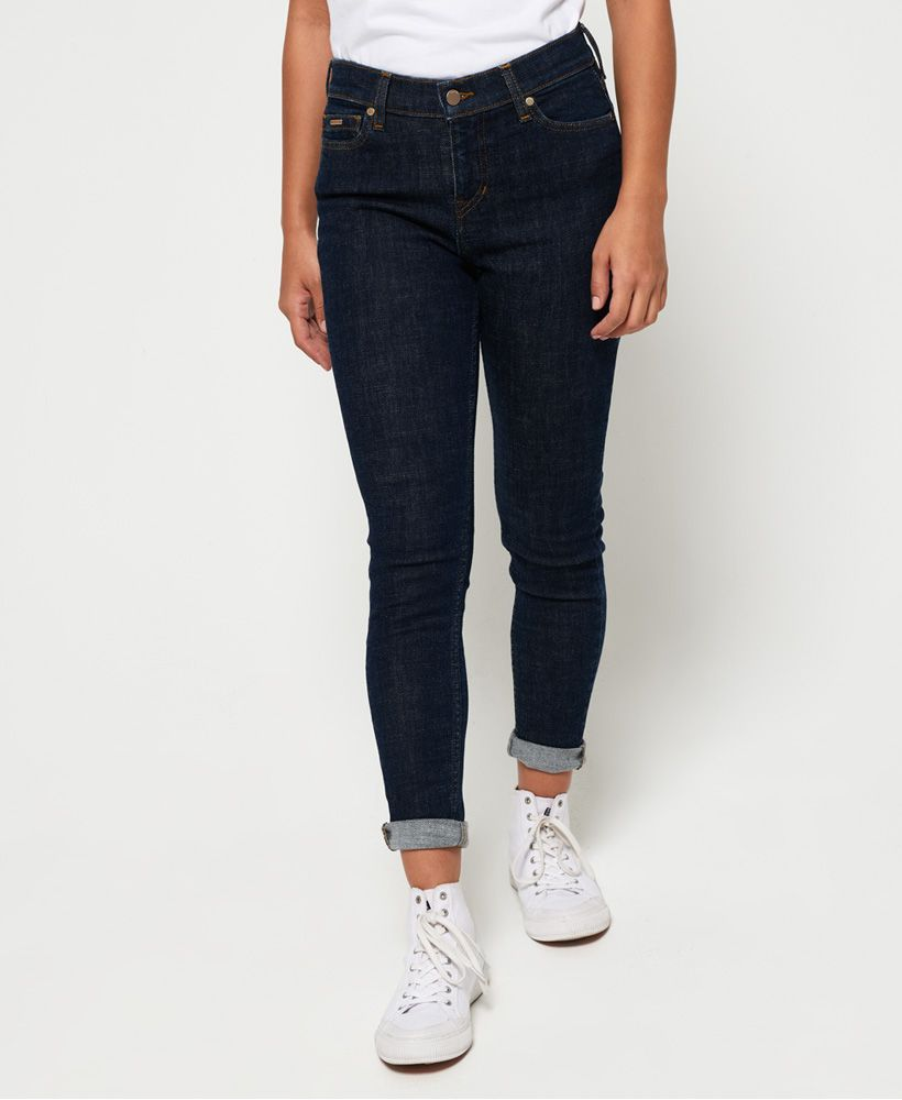 Superdry Super Crafted Mid Rise Skinny Jeans
