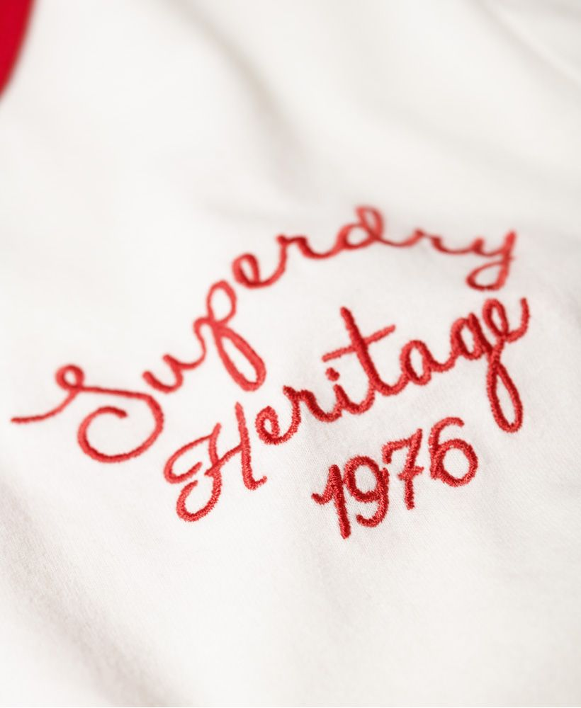 Superdry Heritage Embroidery Ringer Box T-Shirt