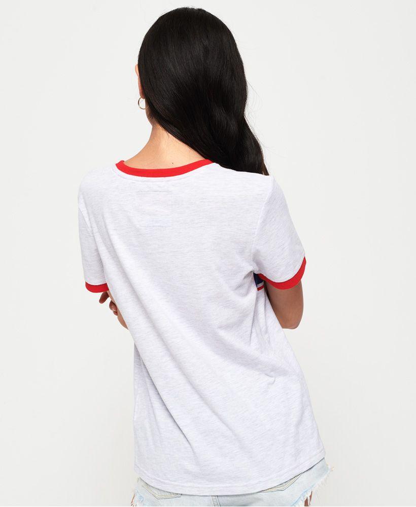 Superdry Vintage Logo Ringer Infill T-Shirt