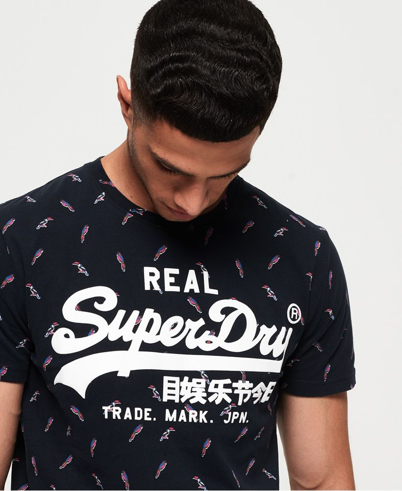 Superdry Vintage Logo All Over Print Mid T-Shirt