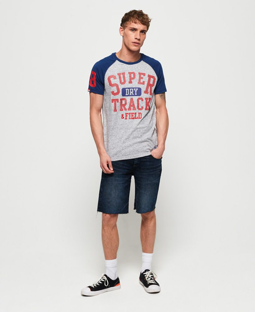 Superdry Track & Field Baseball T-Shirt