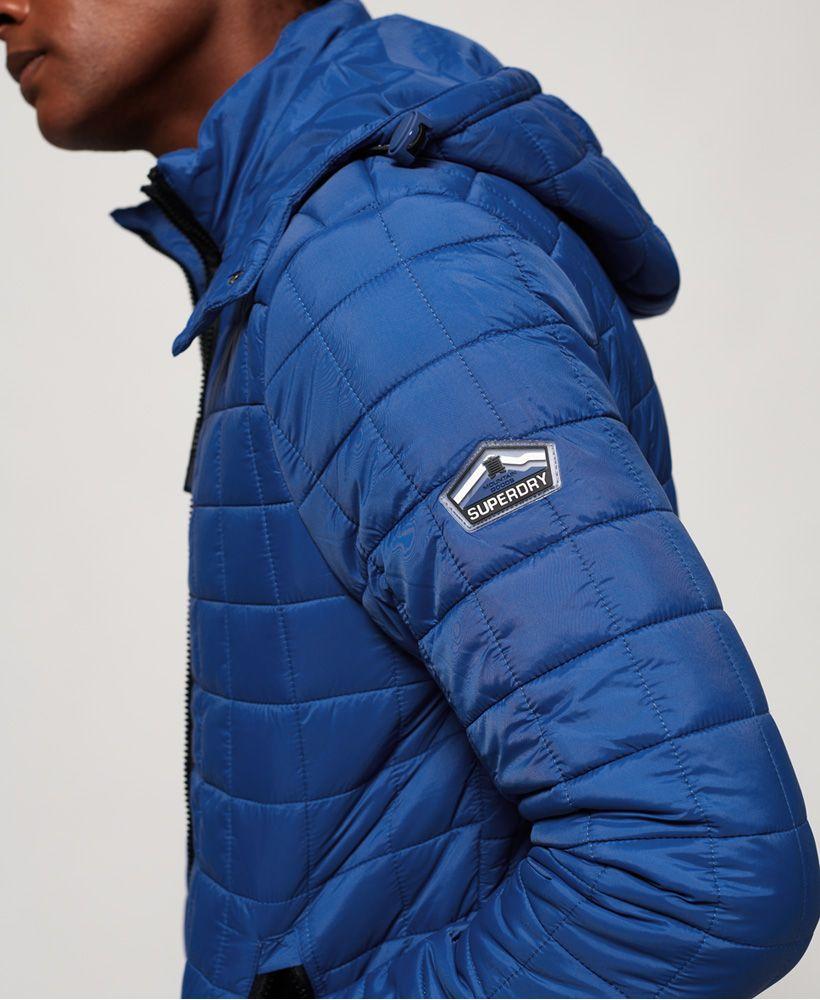 Superdry Box Quilt Fuji Hooded Jacket