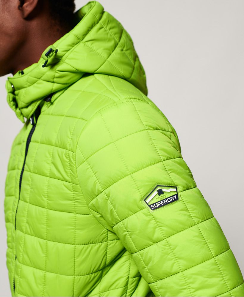 Superdry Box Quilt Fuji Hooded Jacket