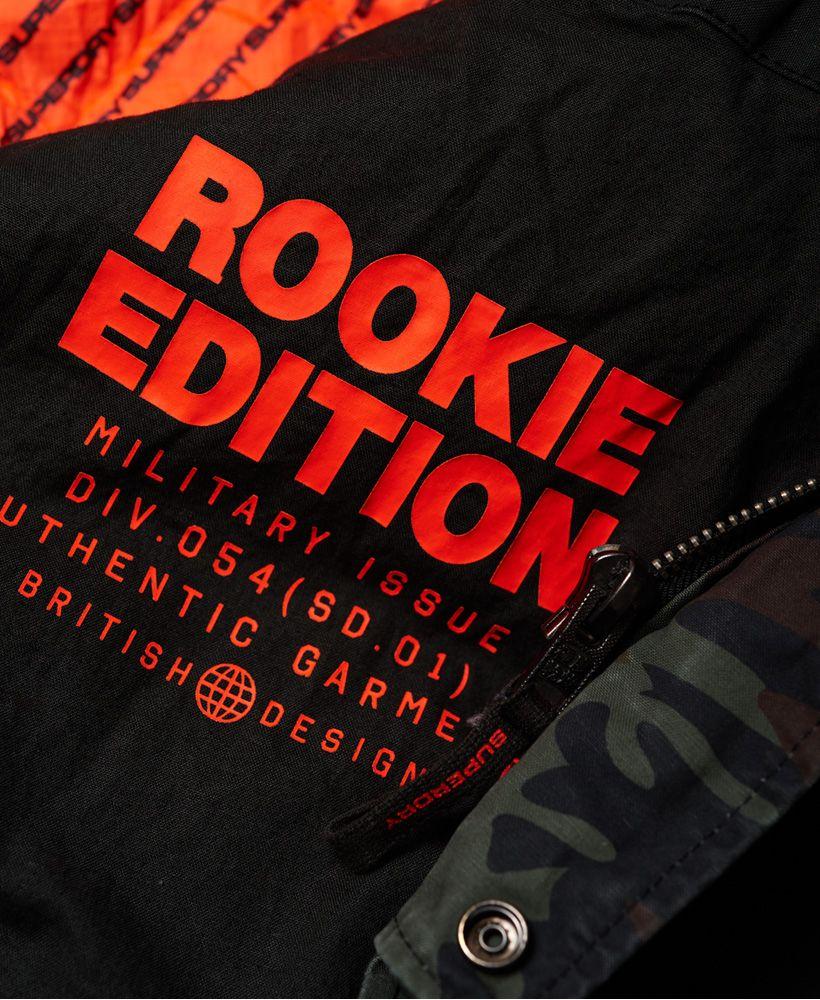 Superdry Rookie Panther Elevated Parka Jacket