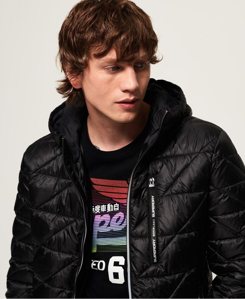Superdry Diagonal Quilt Fuji Jacket