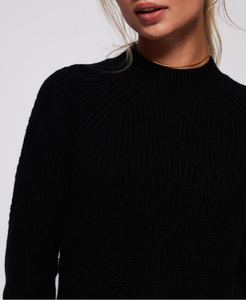 Superdry Hennie Diamond Knit Jumper