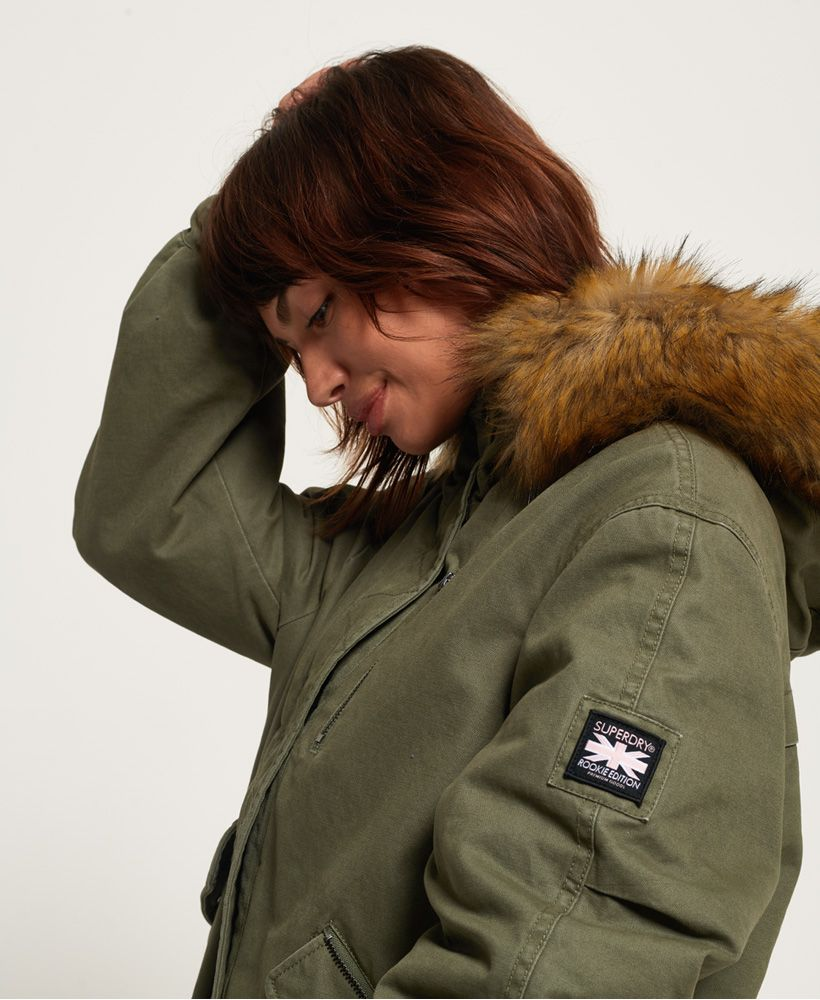 Superdry Toya Rookie Parka Jacket